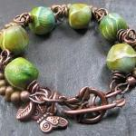 Handmade Copper Bracelet Be..