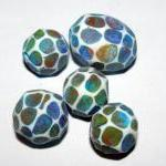 Set of 5 Polymer Clay Distr..